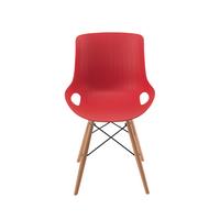 Jemini Red 4 Leg WireBase Breakout Chair