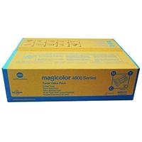 Original Konica Minolta Magicolor 4650 XL Value Pack