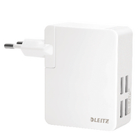 Leitz Travel White USB Wall Charger