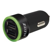 Leitz Universal USB Car Charger Dual