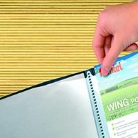 Pentel Wing A4 Pres 20Pt Display Book