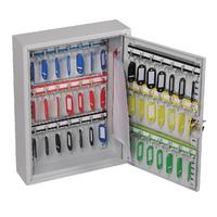 Lockable 42 Hook Key Cabinet