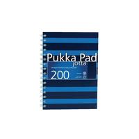 Pukka A5 Navy Blue Jotta Book Pk3