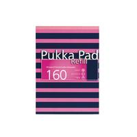 Pukka Navy/Pink A4 Refill Pad Pk6