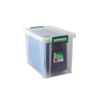 StoreStack 18.5 Ltr Clear Box