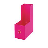 Rexel JOY Pretty Pink Magazine Rack