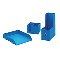 Rexel JOY Blue Desk Accessory Bundle