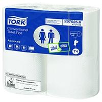 Tork Conventional White Toilet Roll Pk9