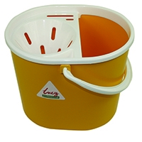 Lucy 15 Litre Yellow Mop Bucket L1405294