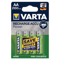 Varta AA Rechargeable Accu Battery Pk4