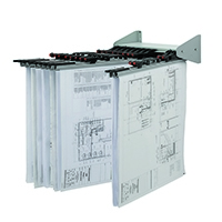 Vistaplan Wall Display Carrier WDC