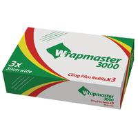 Wrapmaster 3000 Cling Film Refill Pk3