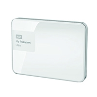 W/Digi My Passport 2TB White Ultra HDD