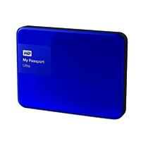 W/Digi My Passport 500GB Blue Ultra HDD
