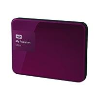 W/Digi My Passport 1TB Berry Ultra HDD