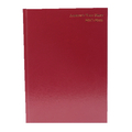 Week to View 2017/18 A5 Burgundy Academic Diary KF3A5ABG17