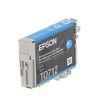 Epson Ink Cartridge T0712 Cyan
