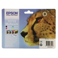 Epson Ultra Inkjet Cartridges Black, Magenta, Cyan, Yellow