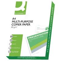 Q-Connect Copier Paper A4 80g Wht Ream (x5)