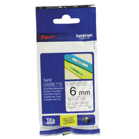 Original Brother PTouch Tape 6mm TZ111