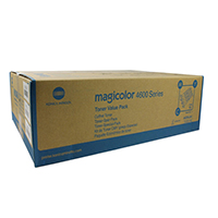 Original Konica Minolta Magicolor 4650 Value Pack